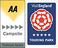 Tourist Board 5 Star & AA 5 Gold Pennant
